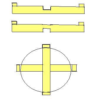 Как сделать крестовину для сплавных сетей 295
